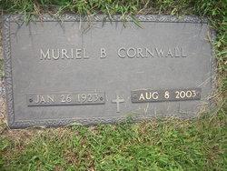 Muriel B <i>Burke</i> Cornwall