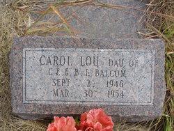 Carol Lou Balcom