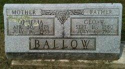 George W. Ballow