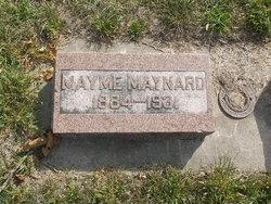 Mayme <i>Slegel</i> Maynard