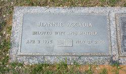 Jeannie <i>Esmond</i> Accadia