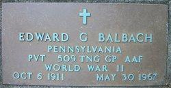 Edward G. Balbach