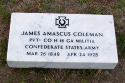 Pvt James Amascus Tobe Coleman