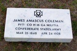 Pvt James Amascus Tobe Coleman