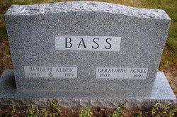 Geraldine Agnes <i>Lundy</i> Bass