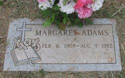 Margaret <i>Villareal</i> Adams