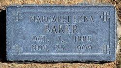 Margaret <i>Edna</i> Baker