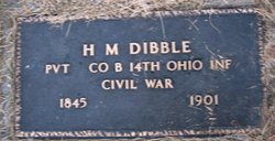 Horace M Dibble