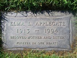 Elma Leona <i>Humphries</i> Applegate