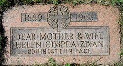 Helen Ileana <i>Zivan</i> Cimpea