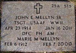 John Edward Mellyn, Sr