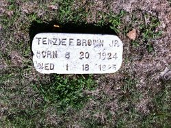 Tenzie F Brown, Jr