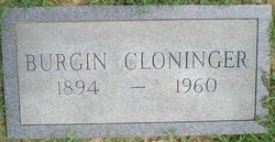 Burgin Cloninger