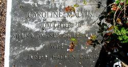 Caroline Malvina <i>Crenshaw</i> Calvin
