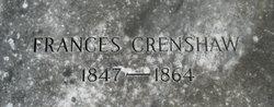 Frances Crenshaw