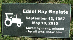 Edsel Ray Beplate