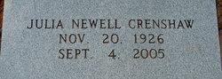 Julia <i>Newell</i> Crenshaw