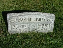 Matilda E Tillie <i>Musk</i> Bartholomew