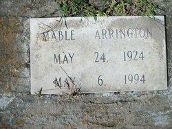 Mable Ricky Arrington