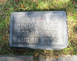 Dr Peyton Roland Denman, Sr