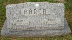 Harriett <i>James</i> Aaron