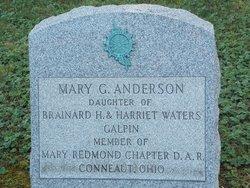 Mary <i>Galpin</i> Anderson