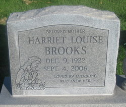 Harriet Louise <i>Rogers</i> Brooks