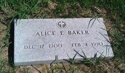 Alice E. Baker