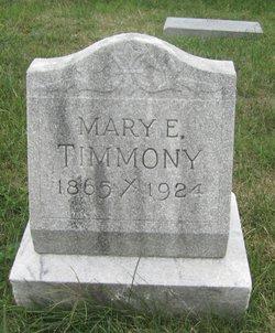 Mary E Timmony