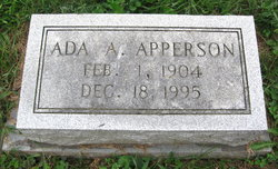 Ada A. Apperson