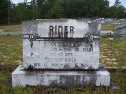 Elder McLucian L. Lucian Riner