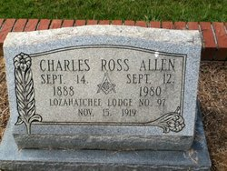 Charles Ross Allen, Sr