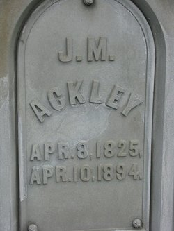 J M Ackley