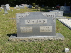 Lula Mable <i>Blalock</i> Blalock