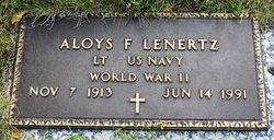 Aloys F. Lenertz
