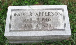 Wade Rowland Apperson