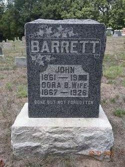 Dora Bell <i>Corn</i> Barrett