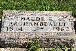Maude E <i>Bercott</i> Archambeault