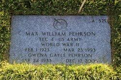 Max William Pehrson