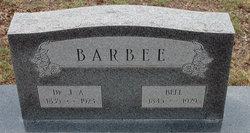 Dr J A Barbee
