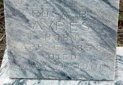 Rosa Bell <i>Cockburn</i> Ayres