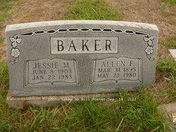 Jessie May <i>Berry</i> Baker
