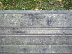 Henrietta Wade <i>Bunting</i> Blakslee