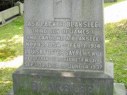 Louisa Foster <i>Sayre</i> Blakslee