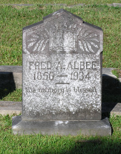 Frederick Addison Fred Albee
