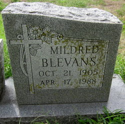 Mildred Louise <i>Phillips</i> Blevans
