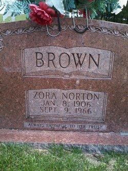 Zora <i>Norton</i> Brown