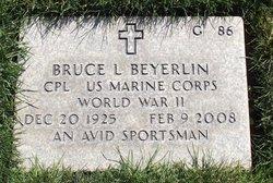 Bruce Lee Beyerlin