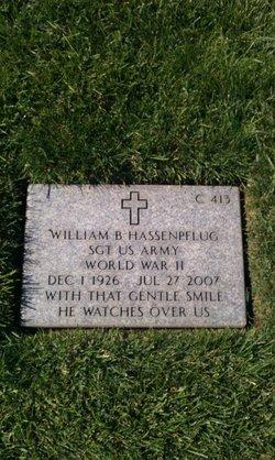 William B Hassenpflug