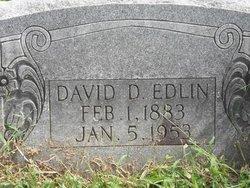 David D Edlin